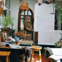 Abel Ramírez Aguilar En El Estudio