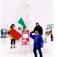 Presencia de Mexico Concurso Internaciona de Nieve Brekenridge Co. USA