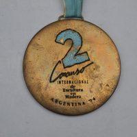 Internacional De Escultura En Madera Argentina 1994