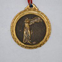Juegos Olímpicos Escultura En Nieve Valloire Francia 1992 Frente