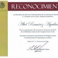 Reconocimeinto De La Secretaria De Servicios Parlamentarios 2015